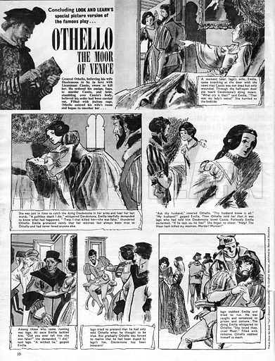 Othello, based on the play by William Shakespeare.