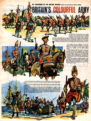 My Scrapbook of the British Soldier: Britain's Colourful Army.