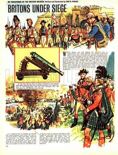 My Scrapbook of the British Soldier: Britons Under Siege.