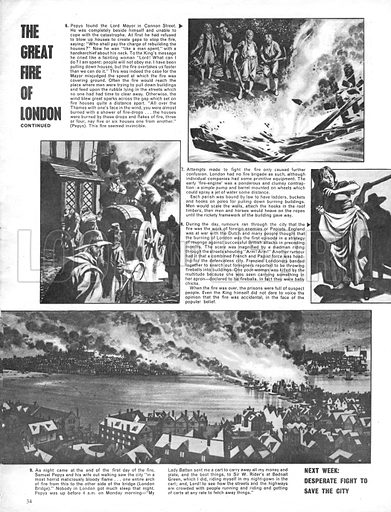 The Great Fire of London: The Hopeless Fight Against the Flames.