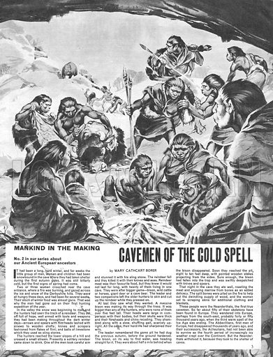 Mankind in the Making: Cavemen of the Cold Spell.