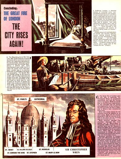 The Great Fire of London: The City Rises Again!.
