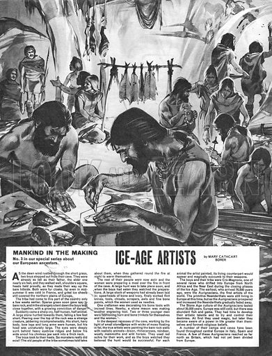 Mankind in the Making: Ice-Age Artists.