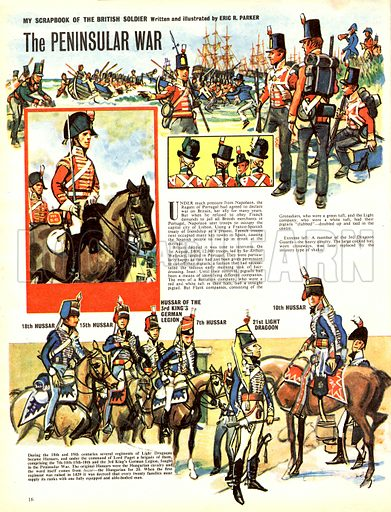 My Scrapbook of the British Soldier: The Peninsular War.