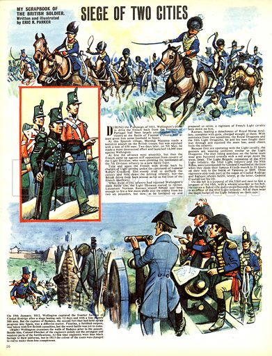My Scrapbook of the British Soldier: Siege of Two Cities.