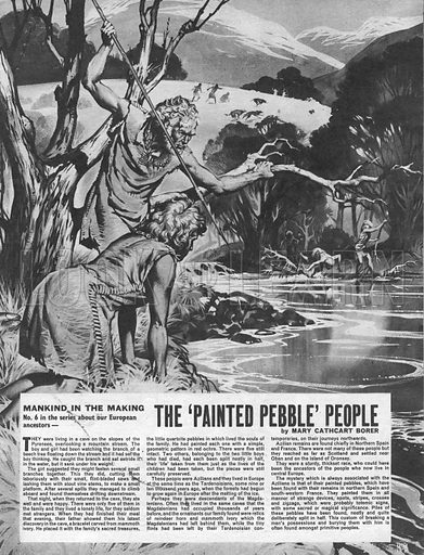 Mankind in the Making: The 'Painted Pebble' People.