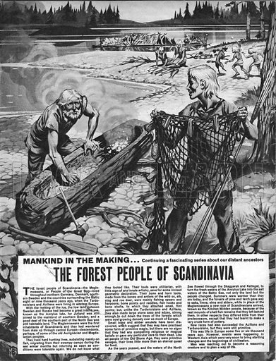 Mankind in the Making: The Forest People of Scandinavia.