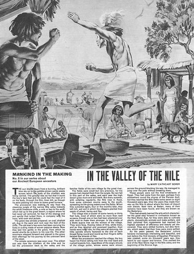 Mankind in the Making: In the Valley of the Nile.