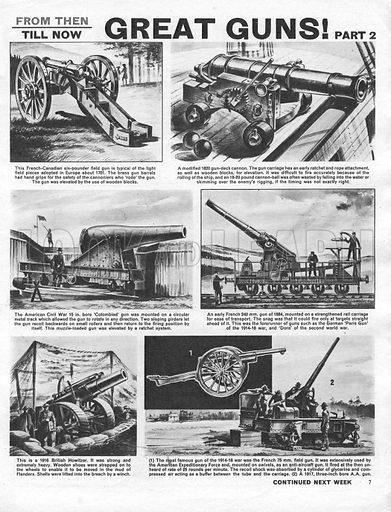 From Then Till Now: Great Guns!.