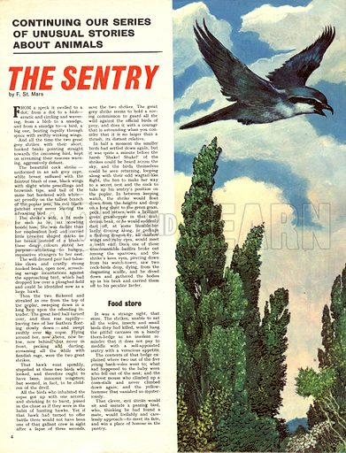 The Sentry. Based on a story by F. St. Mars.