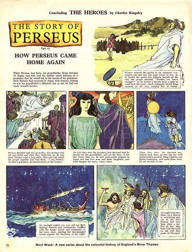 The Story of Perseus, based on the book The Heroes by Charles Kingsley.