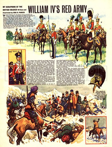My Scrapbook of the British Soldier: William IV's Red Army.