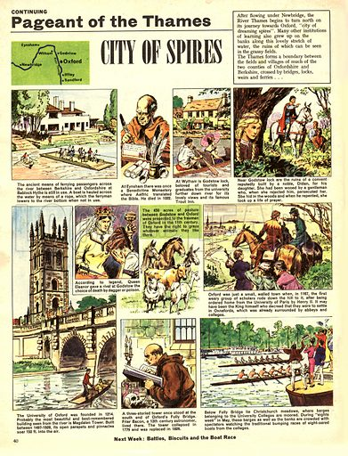 Pageant of the Thames: City of Spires.
