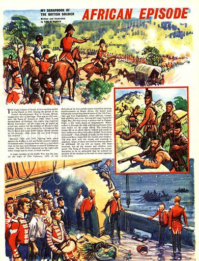 My Scrapbook of the British Soldier: African Episode.