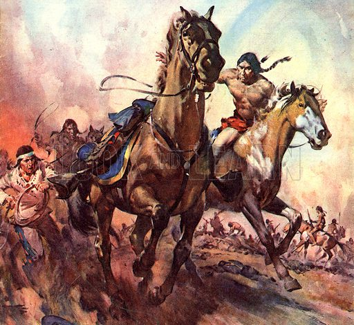 Famous Horses of Fact and Fiction: The Sole Survivor. The 100th Anniversary of the founding of the United States was also the year of the Battle of Little Big Horn. Only Comanche, the horse belonging to Captain Miles Keogh, second-in-command to Custer, survived.