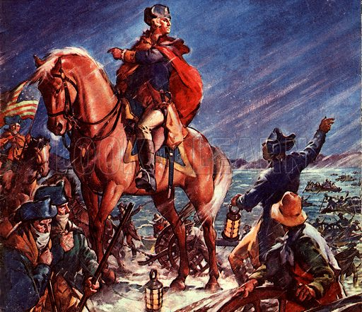 Famous Horses of Fact and Fiction: Crossing the River on Christmas Night. On Christmas Night 1776, George Washington decided to re-cross the Delaware river in Pennsylvania, his victory turning the tide of the American Civil War.