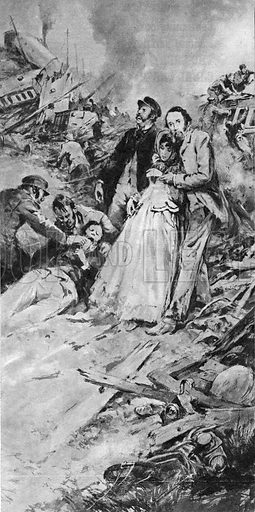 True Adventure: When Charles Dickens Was A Hero. The year was 1865 and Charles Dickens, the famous author, was on an express train back to London when it derailed. Only after he helped with the wounded and dying did he go back to the surviving carriage to rescue something more personal -- the manuscript of his latest novel.