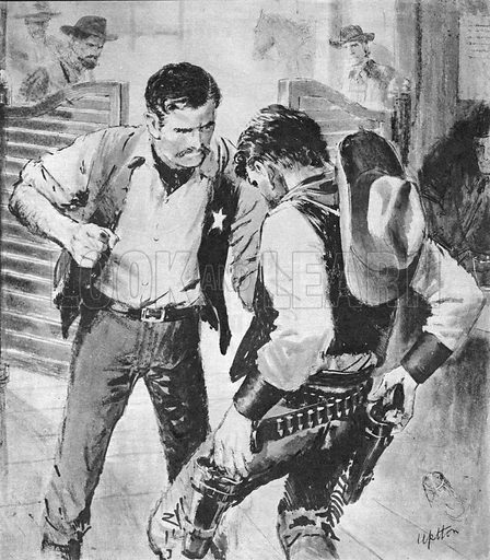 True Adventure: The Two-Fisted Town-Tamer. The new Marshal of Abiline, one of the toughest towns in the wild west, was Tom Smith. What chance did he have of keeping order when he didn't even carry a gun?.