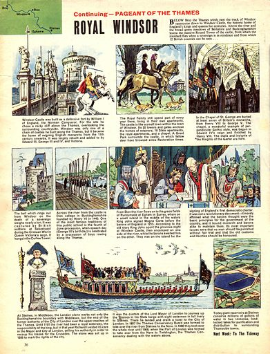 Pageant of the Thames: Royal Windsor.