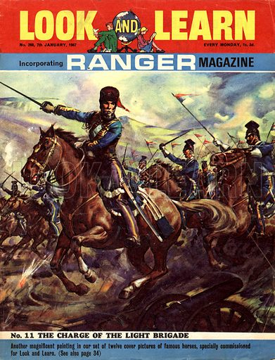 Famous Horses of Fact and Fiction: The Charge of the Light Brigade.