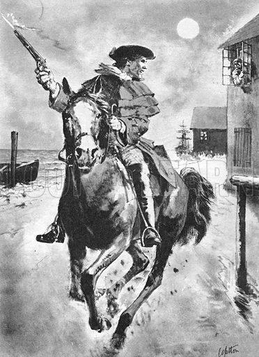 True Adventure: The Ride of Paul Revere. Made famous in Longfellow's poem 'Paul Revere's Ride'.