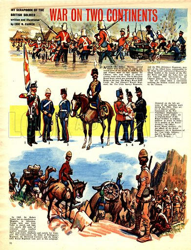 My Scrapbook of the British Soldier: War on Two Continents.