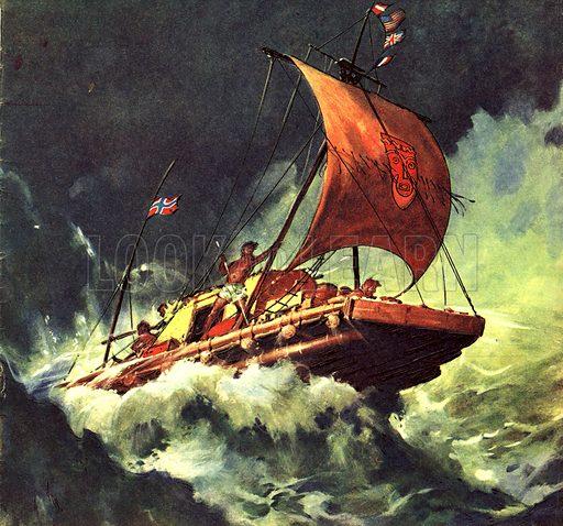 Famous Ships: The Voyage of the Kon-Tiki.