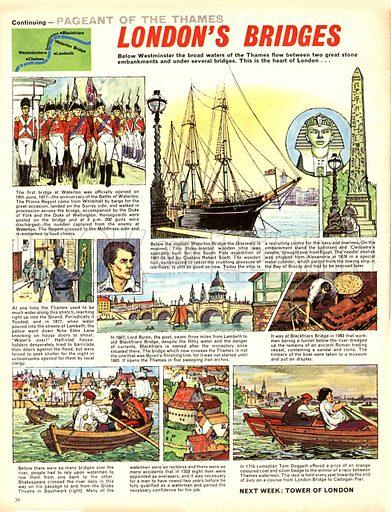 Pageant of the Thames: London's Bridges.