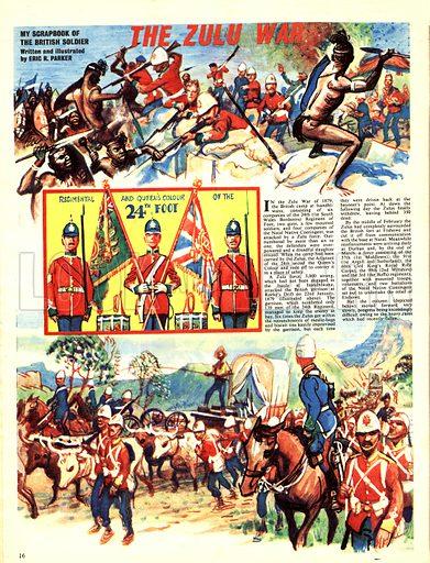 My Scrapbook of the British Soldier: The Zulu War.
