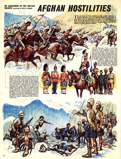 My Scrapbook of the British Soldier: Afghan Hostilities.