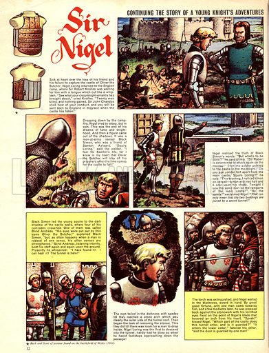 Sir Nigel, based on the novel by Sir Arthur Conan Doyle.