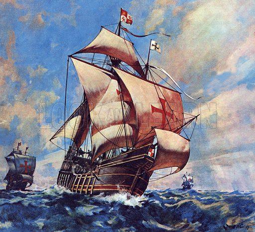 Famous Ships: The Santa Maria.