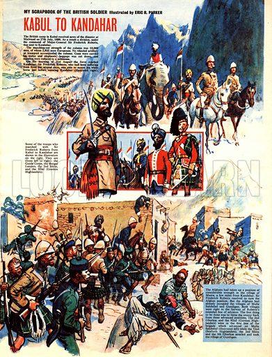 My Scrapbook of the British Soldier: Kabul to Kandahar.