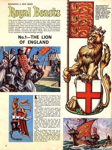 Royal Beasts -- The Lion of England.