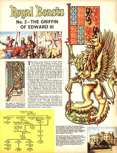 Royal Beasts: The Griffin of Edward III.