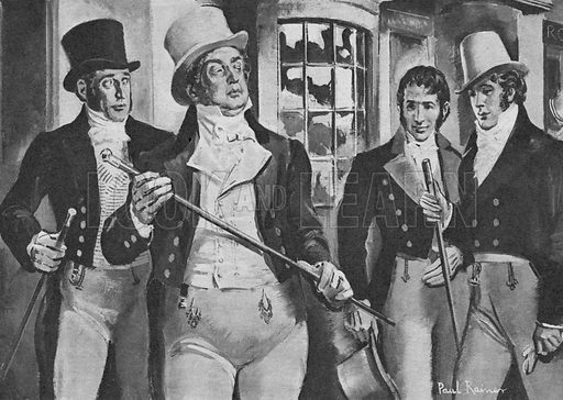 """Who Said...? """"Who's Your Fat Friend?"""" Beau Brummell, about the Prince Regent (later George IV) in 1812."""