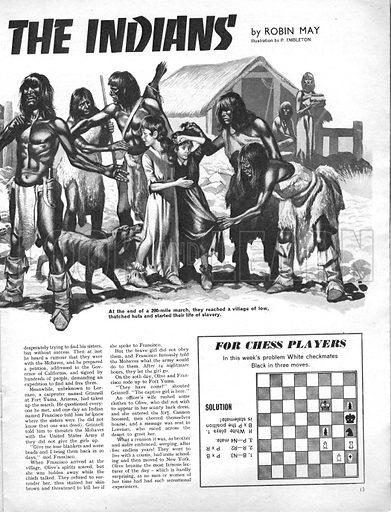 True Adventure: Slave of the Indians.