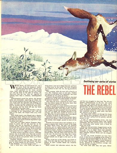 The Rebel of Glenlee. A story by F. St. Mars.
