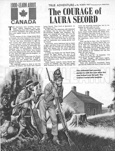 True Adventure: The Courage of Laura Secord.