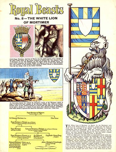 Royal Beasts: The White Lion of Mortimer.
