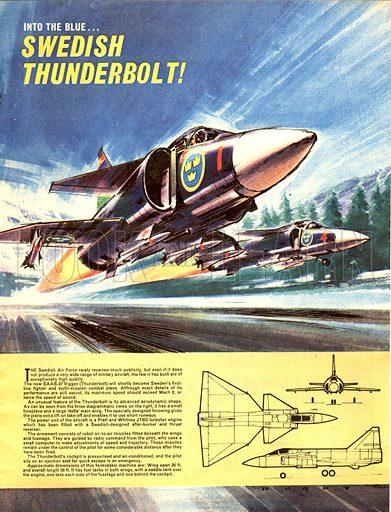 Into the Blue: Swedish Thunderbolt!.