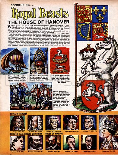 Royal Beasts: The House of Hanover.