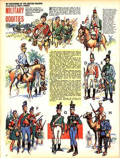 My Scrapbook of the British Soldier: Military Oddities.