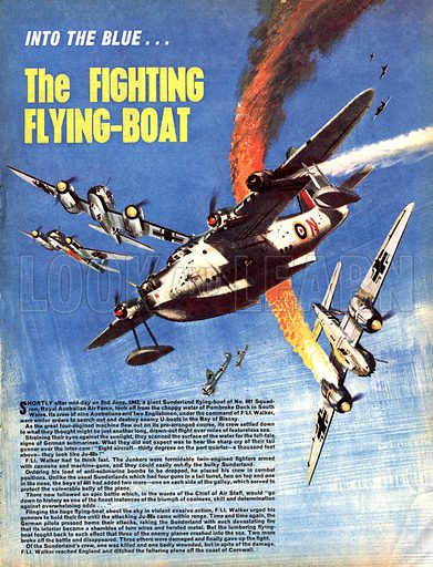 Into the Blue: The Fighting Flying-Boat.