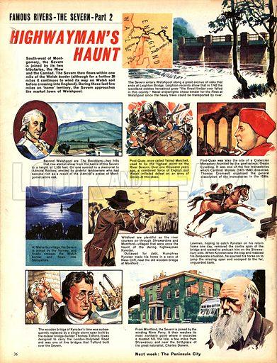 Famous Rivers -- The Severn: Highwayman's Haunt.
