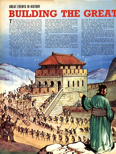 Great Events in History: Building the Great Wall.