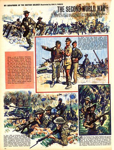 My Scrapbook of the British Soldier: The Second World War.