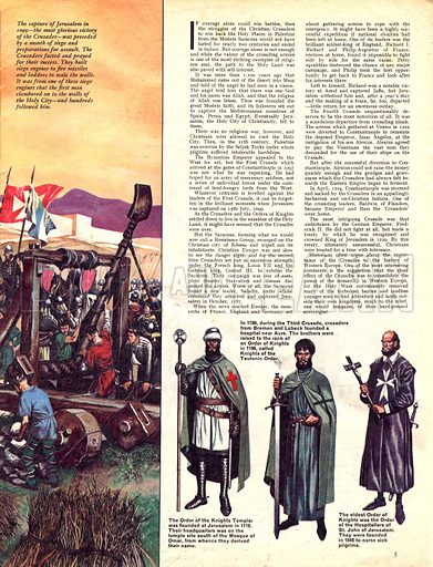 Great Events in History: The Crusades. The capture of Jerusalem.