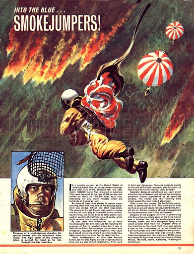 Into the Blue: Smokejumpers!.
