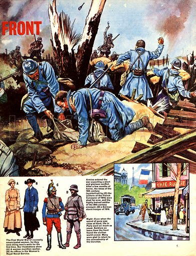 Great Events in History: The Western Front.